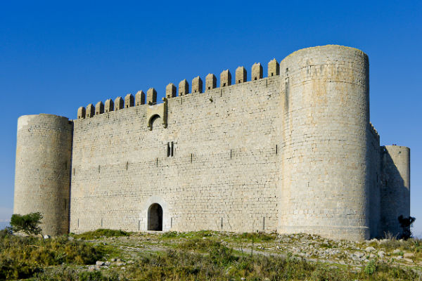 "Visit the ""castell Montgri"" (the castle of the grey mountain)"