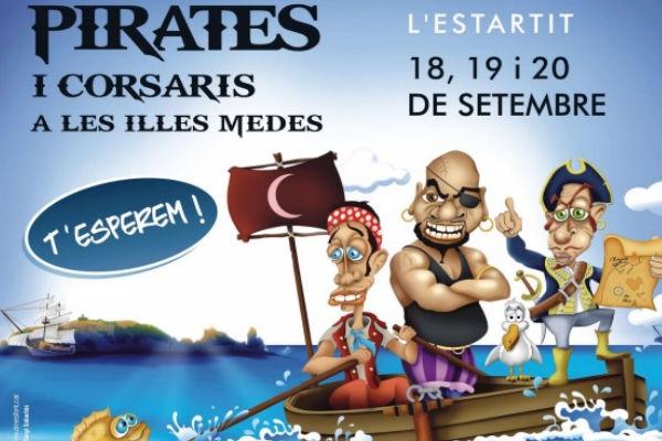 Feast of pirates and corsairs in l'Estartit