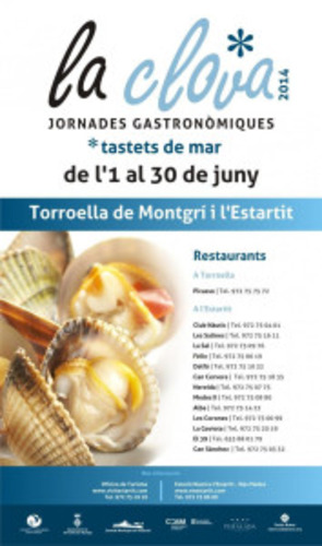 Gastronomic days of la clova in the Estartit during june