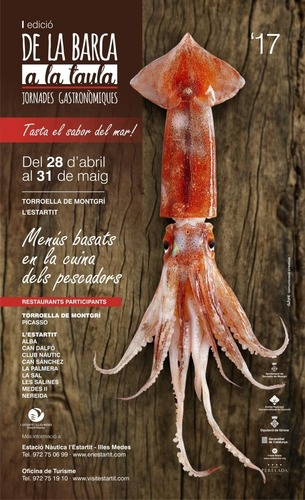 "Gastronomic days ""from the boat to the table"" in Estartit during may"