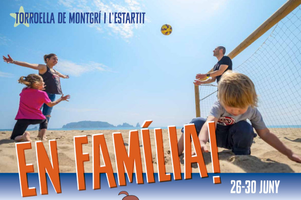 In Family! Apartments for rent in Estartit and a complete programme of activities for the whole family – June 2019