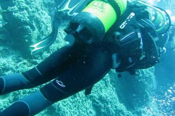Diving in the medes islands – l'Estartit