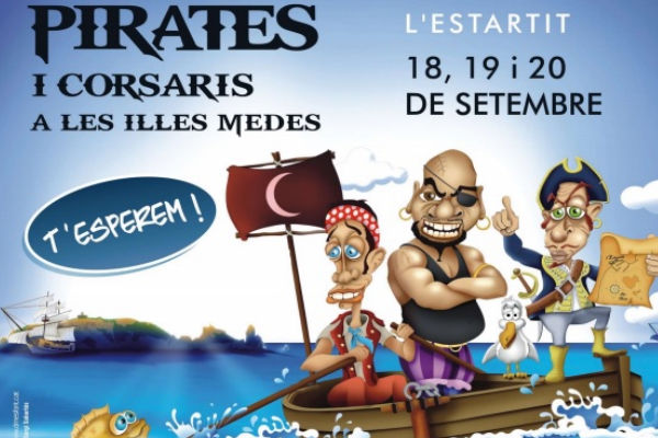 Feast of pirates and corsairs in l'Estartit