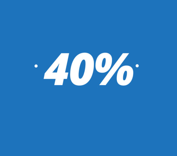 40% discount for long stays