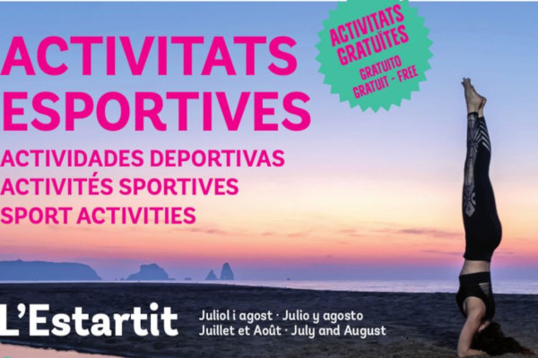 Sports activities summer 2020 – July 2020