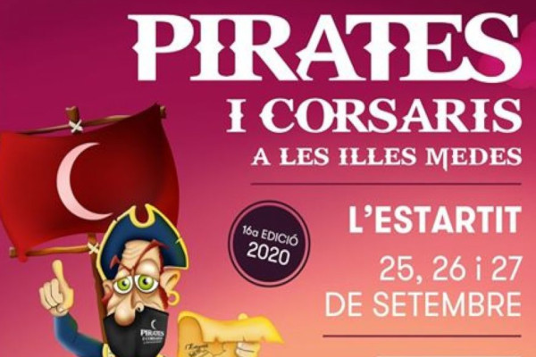 "Fair of ""Pirates i Corsaris a les Illes Medes"" – September 2020"