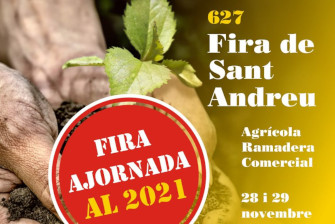 The Fira de Sant Andreu postponed to 2021 – November 2020