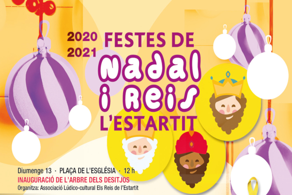 Christmas and Parade of the Three Wise Men in l'Estartit 20-21 – December 2020